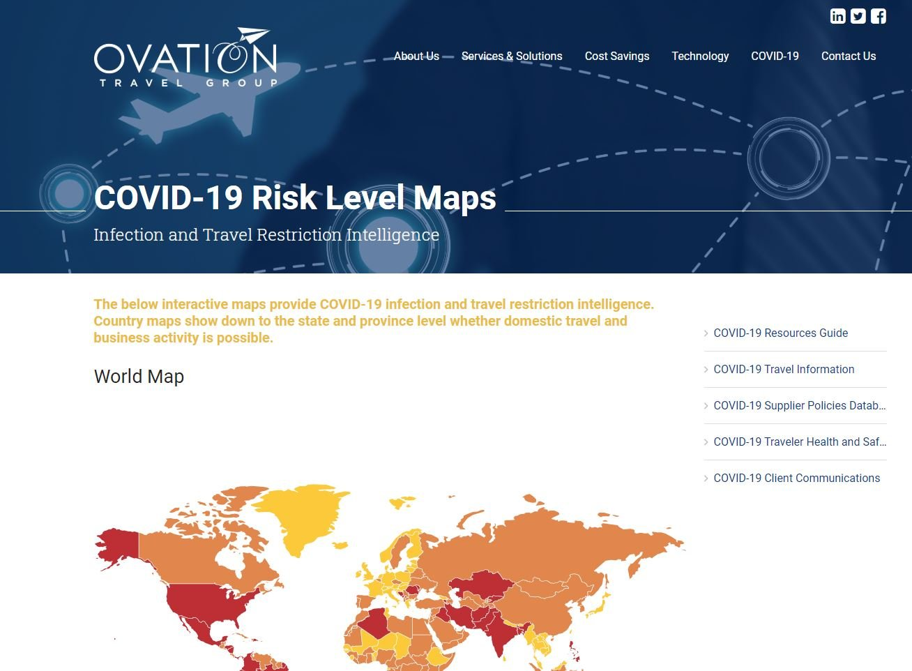 For Covid Itinerary Mgmt Page_Risk Maps Page Capture 8.7.20