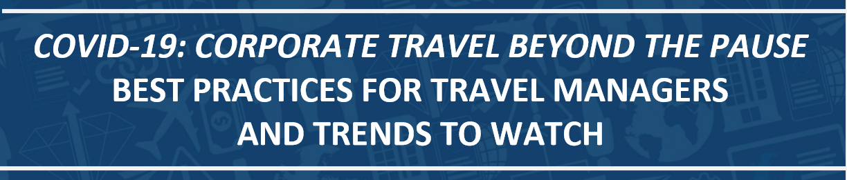 corp travel best practices covid words